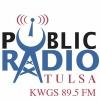 Public Radio Tulsa logo w KWGS